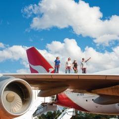Qantas Founders Museum in Longreach outback Queensland