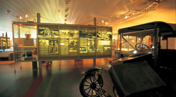 Qantas Founders Outback Museum in Longreach Queensland