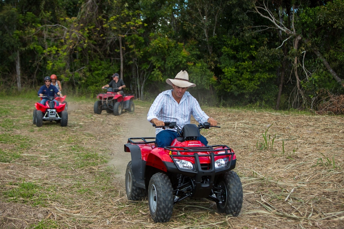 Cairns attractions horse riding atv quad bikes for Places to go horseback riding near me