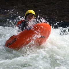 Face first River Rafting with Quality Anvil River Boards