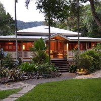 Queenslander Style House with Wide Verandahs