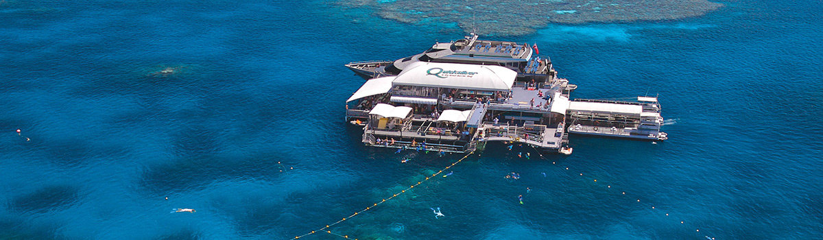 Quicksilver Outer Barrier Reef Cruise platform