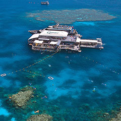 Quicksilver Outer Barrier Reef Pontoon