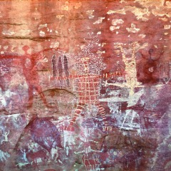 Quinkan Rock Art Display | Australian Cultural 15 Day Cape York Safari