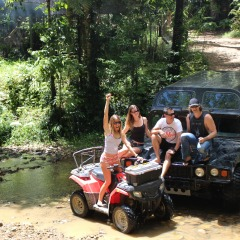 Rainforest ATV and Hummer Tour Cairns