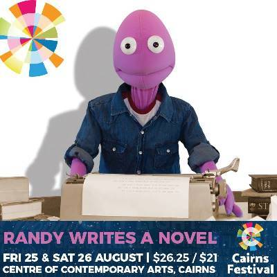 Randy Writes A Novel | Fri 25th & Sat 26th August At The Centre Of Contemporary Arts