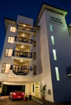 Reception - Tropic Towers Holiday Apartments Cairns