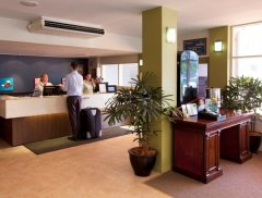 Reception at Ibis Styles Cairns