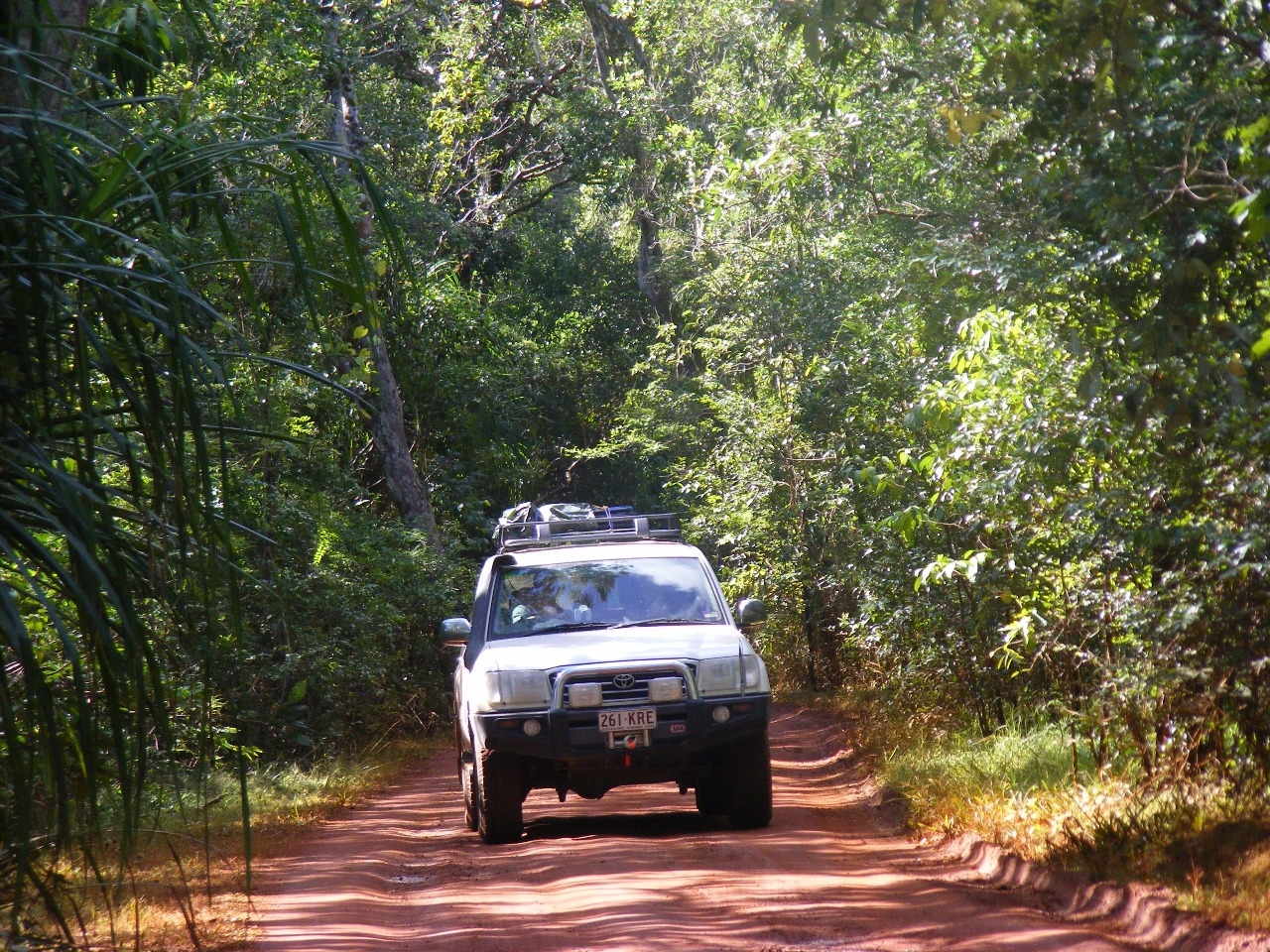 how to drive to cape york
