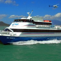 Great Barrier Reef transfer boat and Helicopter Cairns