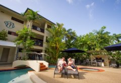 Relax by the Swimming Pool (Heated in Winter Months) - Meridian Apartments Port Douglas