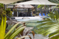 Relax by the Lagoon Pool at Marlin Cove Resort Trinity Beach