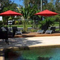 Relax by the Pool at Clifton Beach Sands Holiday Apartment