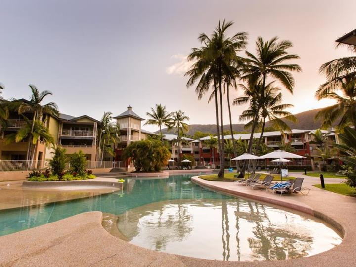 Relax by the Pool at Mantra Amphora Resort Private Holiday Apartments, Palm Cove