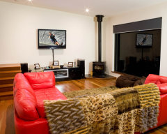 Relax in the comfortable Living Area - The Edge Holiday House
