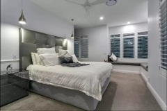 Relax in the plush Master Bedroom
