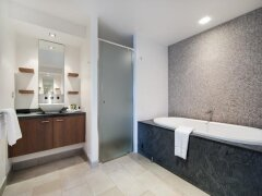 Relax in the oversized Spa Bath | Sea Temple Palm Cove Private Apartments