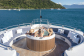 Relax in the spa tub on the forward deck in the evenings
