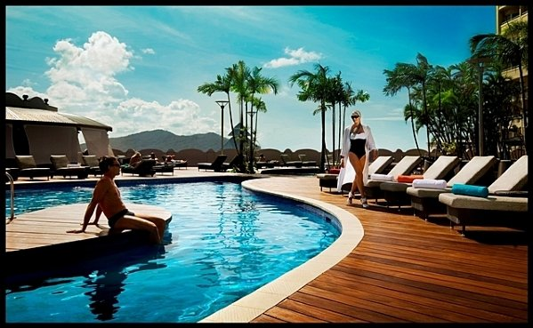 Relax in the Swimming Pool on Level 5 with Cairns City Views - Pullman Cairns International Hotel