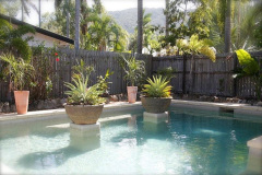 Relax in your own private pool in your Palm Cove Holiday Home