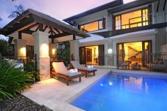 Sea Temple Port Douglas Private Let Villa - Relax in your private courtyard with Plunge Pool