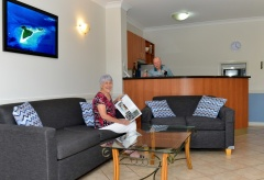 Relax on holidays in Cairns at Waterfront Terraces Holiday Apartments