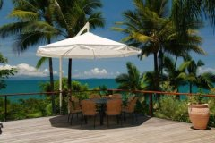 Relax on the deck at your private Port Douglas holiday home
