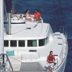 Relax on this small group luxury private charter Great Barrier Reef tour