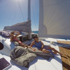 Relax on your Port Douglas Private Charter Yacht