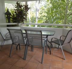 Relax on your private balcony and enjoy your tropical holiday - Port Douglas Beach Terraces