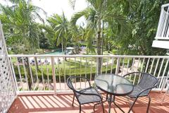 Relax on your private balcony with Garden or Seaviews
