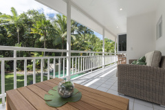 Relax overlooking the private gardens and Swimming Pool | Port Douglas Holiday Homes