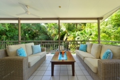 Relax upstairs overlooking Swimming Pool - Port Douglas Holiday homes