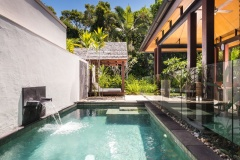 Relax with your private plunge pool within your luxury villa | Niramaya Port Douglas