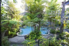 Reef Resort Port Douglas Leisure Pool and Gardens Landscape