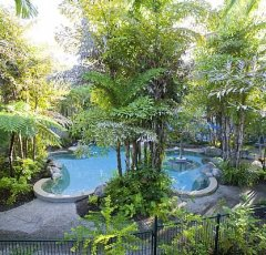 Rendezvous Reef Resort Port Douglas Leisure Pool and Gardens Landscape