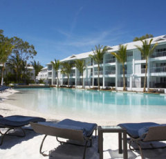 Large Lagoon Swimming Pool at Peppers Beach Club Resort Port Douglas