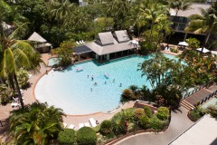 Cairns City Resort with Lagoon Swimming Pool