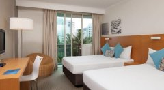 Resort Room with 2 Double Beds - Great family accommodation at Novotel Oasis Cairns Resort