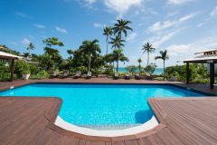 Resort Swimming Pool - Lizard Island Resort Great Barrier Reef