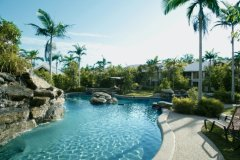 1 of 2 Heated Swimming Pools at Paradise Links Resort Port Douglas