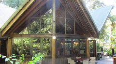 Restaurant at Ferntree Rainforest Lodge