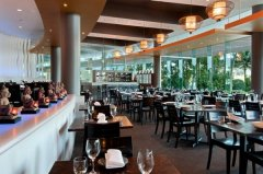 Restaurant at Hilton Hotel Cairns