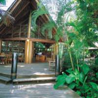 Restaurant Open for Breakfast and Dinner (Seasonal) Daintree Rainforest Accommodation