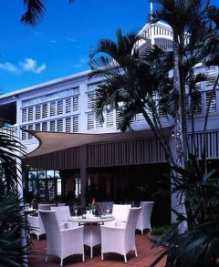 Restaurant Terrace at The Hotel Cairns