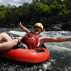 Behana Gorge Riding the Rapids | Cairns River Tubing Tour