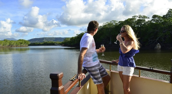 River Cruise Boat Available For Private Functions In Port Douglas North Queensland | Discover Dickson Inlet