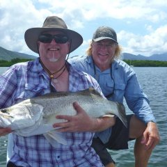 River fishing and estuary fishing tours in Cairns