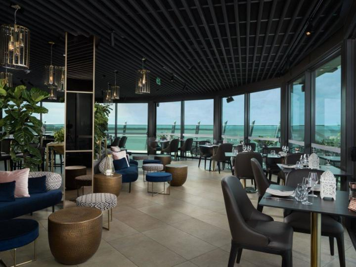 Rocco Rooftop Bar overlooking Cairns & stunning Coral Sea Views