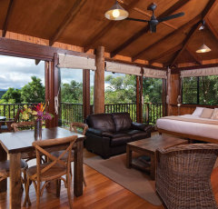 Rainforest Eco Retreat - Cairns Tablelands Luxury Eco Treehouse Accommodation